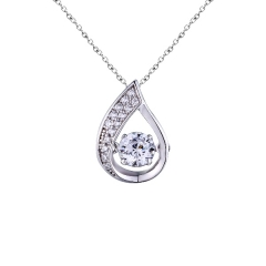 Sterling Silver Dancing Pendant