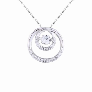925 sterling silver pendant with CZ